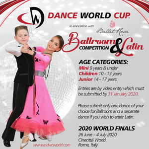 Ballroom & Latin Competition Video Entries