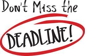 Don't miss the 2021 entries submission deadline!