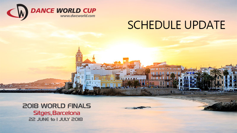 Schedule Update - 2018 World Finals